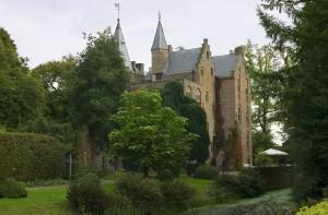 kasteel in het groen